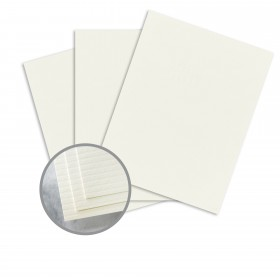Carnival Stellar White Card Stock - 26 x 40 in 100 lb Cover Groove 250 per Carton