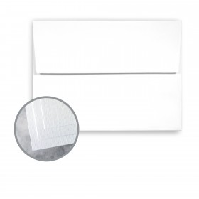 Carnival White Envelopes - A7 (5 1/4 x 7 1/4) 70 lb Text Linen  30% Recycled 250 per Box
