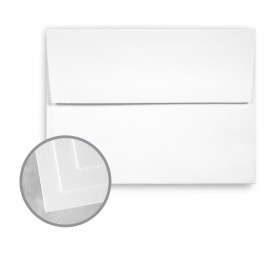 Carnival White Envelopes - A6 (4 3/4 x 6 1/2) 70 lb Text Vellum  30% Recycled 250 per Box