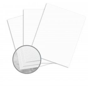Carnival White Paper - 25 x 38 in 70 lb Text Felt  30% Recycled 1000 per Carton