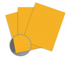 Carnival Yellow Card Stock - 19 x 13 in 80 lb Cover Vellum Digital with I-Tone  30% Recycled 500 per Carton