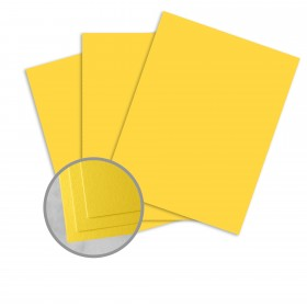Carnival Yellow Paper - 25 x 38 in 70 lb Text Vellum  30% Recycled 1000 per Carton
