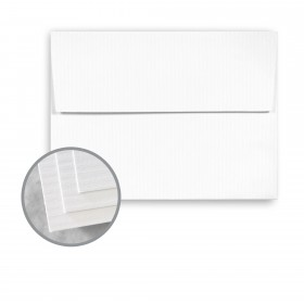 CLASSIC COLUMNS Avalanche White Envelopes - A7 (5 1/4 x 7 1/4) 80 lb Text Embossed 1000 per Carton
