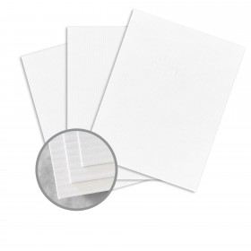 CLASSIC COLUMNS Avalanche White Paper - 8 1/2 x 11 in 24 lb Writing Embossed Watermarked 500 per Ream