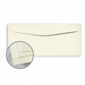 CLASSIC COLUMNS Classic Natural White Envelopes - No. 10 Commercial (4 1/8 x 9 1/2) 24 lb Writing Embossed Watermarked 500 per Box