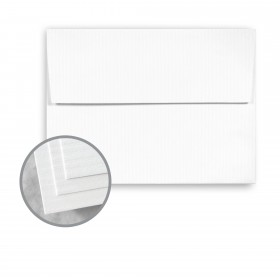 CLASSIC COLUMNS Solar White Envelopes - A7 (5 1/4 x 7 1/4) 80 lb Text Embossed 250 per Box