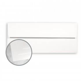 CLASSIC Cotton Avon Brillian White Envelopes - No. 10 Square Flap (4 1/8 x 9 1/2) 24 lb Writing Wove  25% Cotton Watermarked 500 per Box