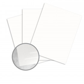 CLASSIC Cotton Avon Brilliant White Paper - 8 1/2 x 11 in 24 lb Writing Wove  25% Cotton Watermarked 500 per Ream
