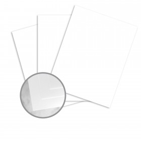 CLASSIC Cotton Recycled Bright White Paper - 26 x 40 in 88 lb Bristol Wove  30% Recycled  25% Cotton 200 per Carton