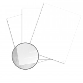 CLASSIC Cotton Solar White Paper - 8 1/2 x 11 in 88 lb Cover DT Wove  25% Cotton 250 per Package