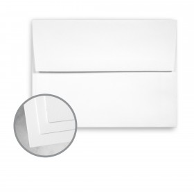 CLASSIC CREST Avalanche White Envelopes - A7 (5 1/4 x 7 1/4) 80 lb Text Super Smooth 250 per Box