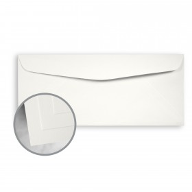 CLASSIC CREST Avon Brilliant White Envelopes - No. 10 Commercial (4 1/8 x 9 1/2) 70 lb Text Smooth 500 per Box