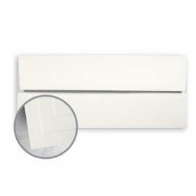 CLASSIC CREST Avon Brilliant White Envelopes - No. 10 Square Flap (4 1/8 x 9 1/2) 70 lb Text Smooth 500 per Box