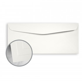CLASSIC CREST Avon Brilliant White Envelopes - No. 10 Commercial (4 1/8 x 9 1/2) 70 lb Text Super Smooth 500 per Box