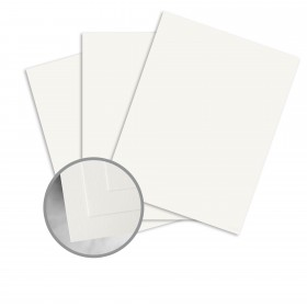 CLASSIC CREST Avon Brilliant White Card Stock - 26 x 40 in 80 lb Cover Super Smooth 300 per Carton