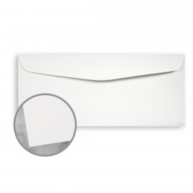 CLASSIC CREST Bare White Envelopes - No. 10 Commercial (4 1/8 x 9 1/2) 80 lb Text Smooth 500 per Box