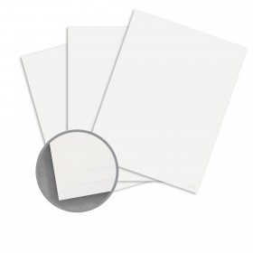 CLASSIC CREST Bare White Card Stock - 18 x 12 in 100 lb Cover Eggshell Digital 125 per Package