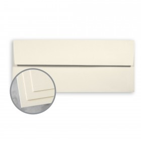 CLASSIC CREST Baronial Ivory Envelopes - No. 10 Square Flap (4 1/8 x 9 1/2) 24 lb Writing Smooth Watermarked 500 per Box