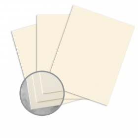 CLASSIC CREST Baronial Ivory Card Stock - 26 x 40 in 80 lb Cover Smooth 300 per Carton
