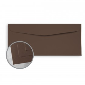 CLASSIC CREST Canyon Brown Envelopes - No. 10 Commercial (4 1/8 x 9 1/2) 80 lb Text Smooth  30% Recycled 500 per Box