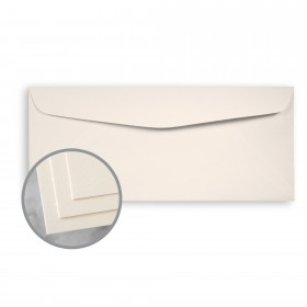 CLASSIC CREST Classic Cream Envelopes - No. 10 Commercial (4 1/8 x 9 1/2) 24 lb Writing Smooth Watermarked 500 per Box