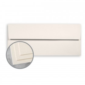 CLASSIC CREST Classic Cream Envelopes - No. 10 Square Flap (4 1/8 x 9 1/2) 24 lb Writing Smooth Watermarked 500 per Box