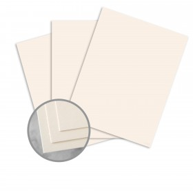 CLASSIC CREST Classic Cream Card Stock - 8 1/2 x 11 in 80 lb Cover Smooth 250 per Package