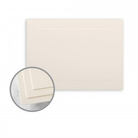 CLASSIC CREST Classic Cream Flat Panel Cards -  (5 1/8 x 7) 110 lb Cover Smooth 250 per Package