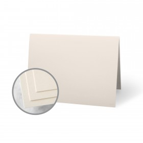 CLASSIC CREST Classic Cream Folded Cards - No. 5 1/2 Baronial (4 1/4 x 5 1/2 folded) 80 lb Cover Smooth 250 per Package
