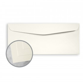 CLASSIC CREST Classic Natural White Envelopes - No. 10 Commercial (4 1/8 x 9 1/2) 24 lb Writing Smooth Watermarked 500 per Box