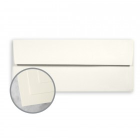 CLASSIC CREST Classic Natural White Envelopes - No. 10 Square Flap (4 1/8 x 9 1/2) 24 lb Writing Smooth Watermarked 500 per Box