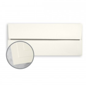 CLASSIC CREST Classic Natural White Envelopes - No. 10 Square Flap (4 1/8 x 9 1/2) 70 lb Text Super Smooth 500 per Box