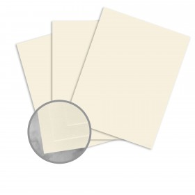 CLASSIC CREST Classic Natural White Card Stock - 26 x 40 in 80 lb Cover Eggshell 300 per Carton