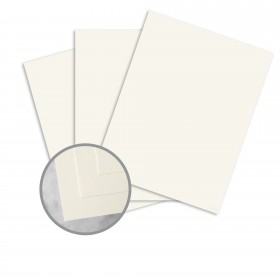 CLASSIC CREST Classic Natural White Card Stock - 35 x 23 in 80 lb Cover Super Smooth 300 per Carton