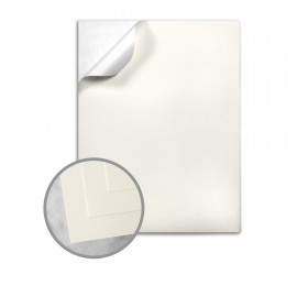 CLASSIC CREST Classic Natural White Labels - 8 1/2 x 11 Full Sheet 70 lb Text Smooth  100% Recycled 100 per Package