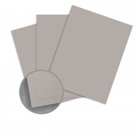 CLASSIC CREST Cool Gray Card Stock - 26 x 40 in 80 lb Cover Eggshell 300 per Carton