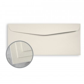 CLASSIC CREST Earthstone Envelopes - No. 10 Commercial (4 1/8 x 9 1/2) 24 lb Writing Smooth  30% Recycled Watermarked 500 per Box