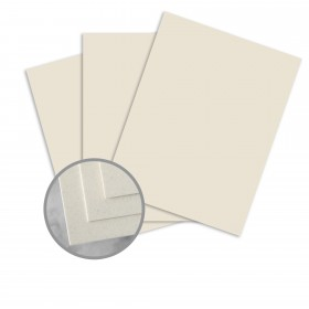 CLASSIC CREST Earthstone Card Stock - 26 x 40 in 80 lb Cover Smooth  30% Recycled 300 per Carton