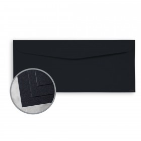 CLASSIC CREST Epic Black Envelopes - No. 10 Commercial (4 1/8 x 9 1/2) 80 lb Text Smooth  30% Recycled 500 per Box