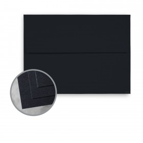 CLASSIC CREST Epic Black Envelopes - A2 (4 3/8 x 5 3/4) 80 lb Text Smooth  30% Recycled 250 per Box