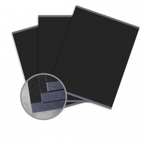 CLASSIC CREST Epic Black Card Stock - 18 x 12 in 100 lb Cover Eggshell Digital  30% Recycled 125 per Package