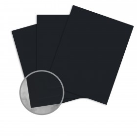 CLASSIC CREST Epic Black Card Stock - 26 x 40 in 130 lb Cover DT Eggshell  30% Recycled 200 per Carton