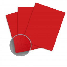 CLASSIC CREST Imperial Red Card Stock - 26 x 40 in 80 lb Cover Smooth 300 per Carton
