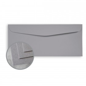 CLASSIC CREST Pewter Envelopes - No. 10 Commercial (4 1/8 x 9 1/2) 80 lb Text Smooth 500 per Box