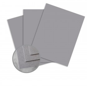 CLASSIC CREST Pewter Card Stock - 8 1/2 x 11 in 80 lb Cover Smooth 250 per Package