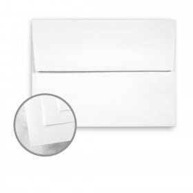 CLASSIC CREST Recycled 100 Bright White Envelopes - A2 (4 3/8 x 5 3/4) 70 lb Text Smooth  100% Recycled 250 per Box