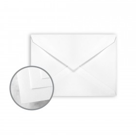 CLASSIC CREST Solar White Envelopes - Lee (5 1/4 x 7 1/4) 70 lb Text Smooth 250 per Box