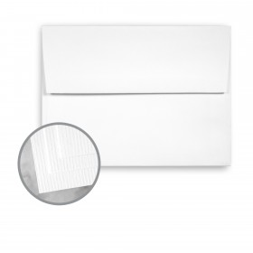 CLASSIC Laid Avalanche White Envelopes - A2 (4 3/8 x 5 3/4) 75 lb Text Laid 250 per Box