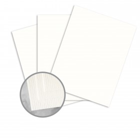 CLASSIC Laid Avon Brilliant White Card Stock - 8 1/2 x 11 in 80 lb Cover Laid 250 per Package