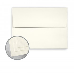 CLASSIC Laid Classic Natural White Envelopes - A6 (4 3/4 x 6 1/2) 75 lb Text Laid 250 per Box